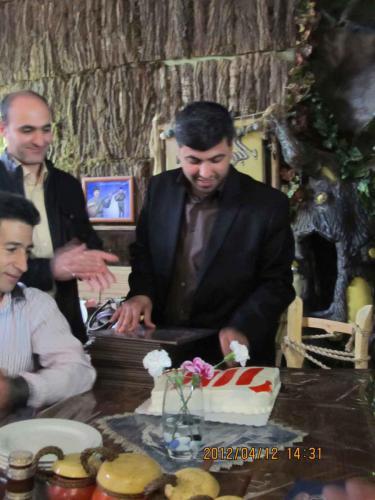 سالگرد گروه شرکت طلایه داران - سال 90 حسین علی  محمدی - Hossein  Alimohammadi - Talayehdaran (1)
