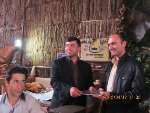 سالگرد گروه شرکت  طلایه داران - سال 90 حسین علی  محمدی - Hossein Alimohammadi - Talayehdaran