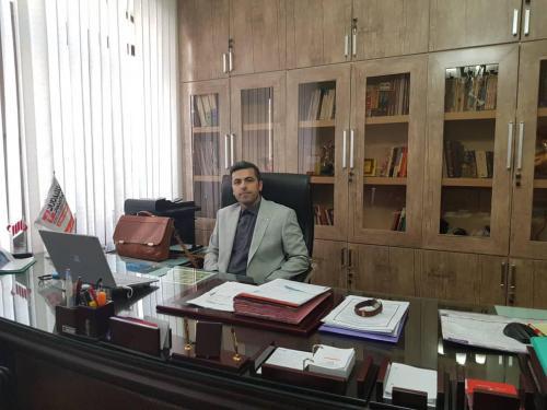 دفتر شرکت طلایه داران حسین علی محمدی - سال 98