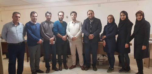 گروه شرکت طلایه داران - سال 98 - Hosseinalimohammadi- Talayehdaran - حسین علی محمدی